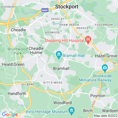 Bramall Hall, Stockport Location