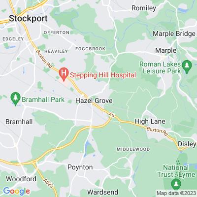 Torkington Park Location