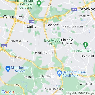 Cheadle Royal Hospital Location