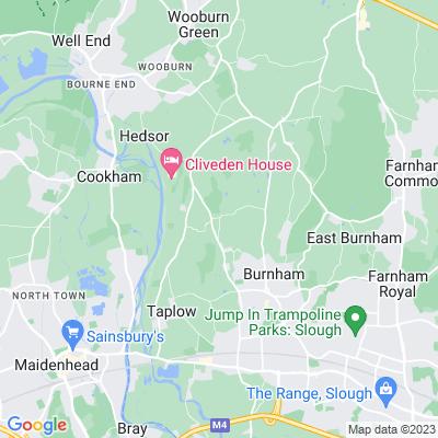 Nashdom Abbey Location