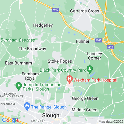 Sefton Park, Stoke Poges Location