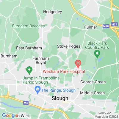 Stoke Park, Farnham Royal Location