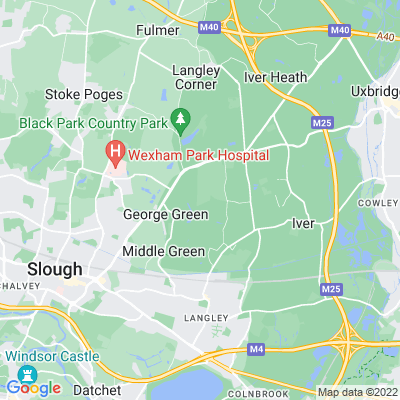Langley Park, Slough Location