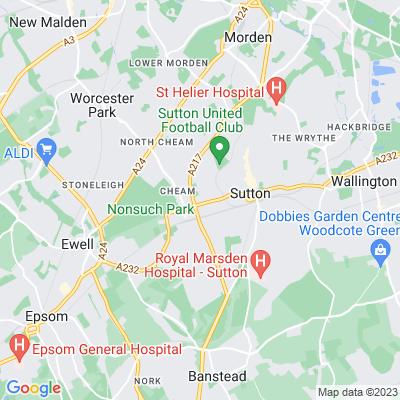 Quarry Park, Sutton Location