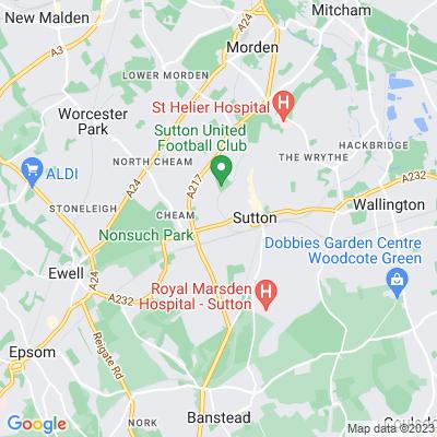 Sutton Cricket Ground Location