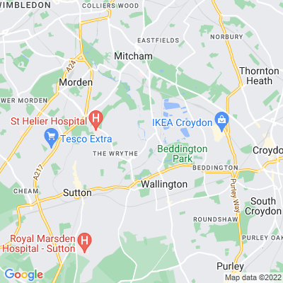 Dale Park, Carshalton Location