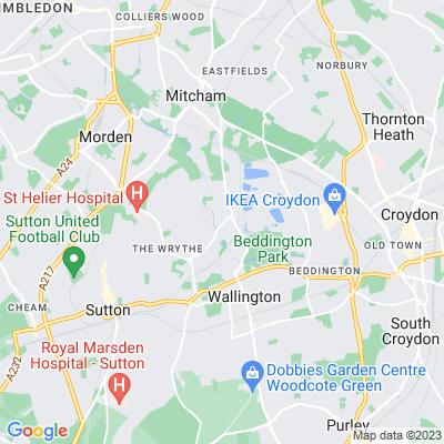 Hackbridge Green Location