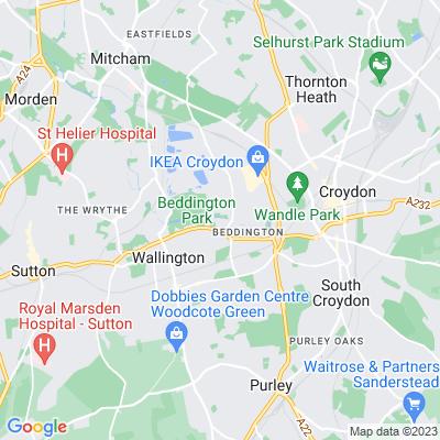 Riverside Walk, Beddington Location