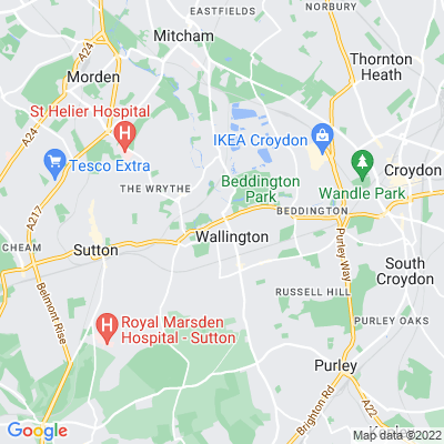 Wallington Green Location