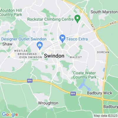 Queen's Park, Swindon Location
