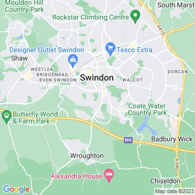 Town Gardens, Swindon Location