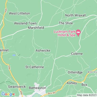 Ashwicke Hall Location