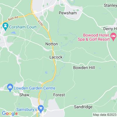 Lacock Abbey Location