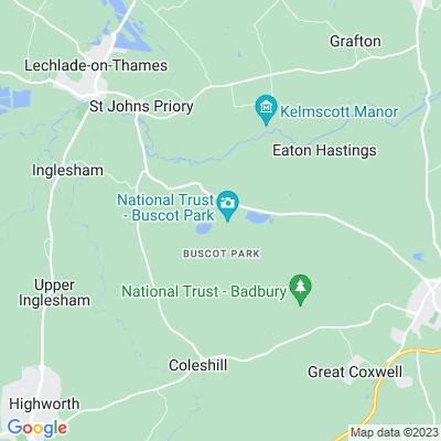 Buscot Park Location