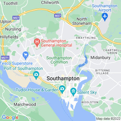 Southampton Old Cemetery Location