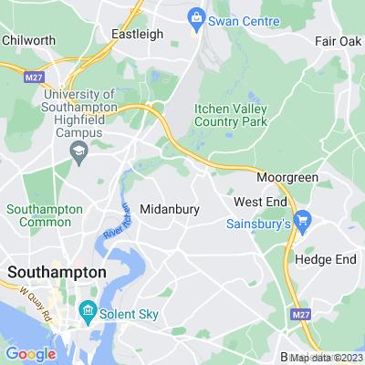 Townhill Park Location