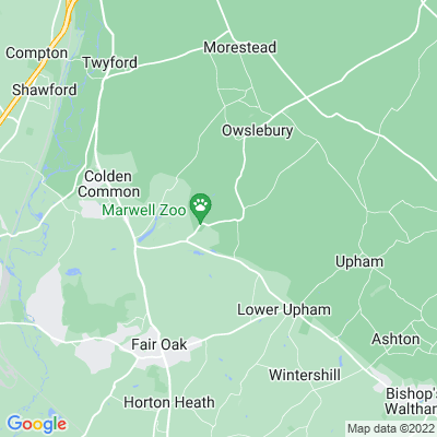 Marwell Zoological Park Location