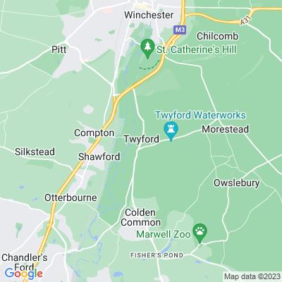 Twyford School Location
