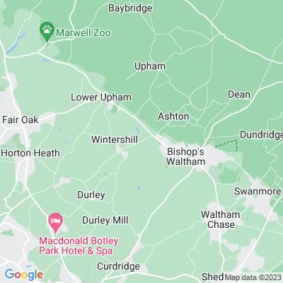 Wintershill House Location