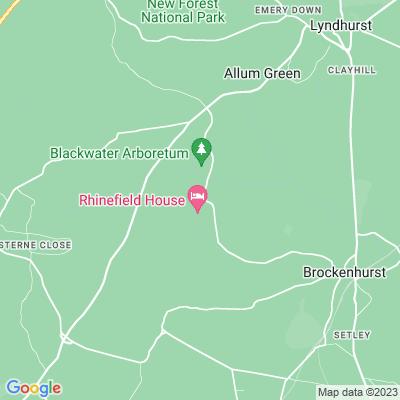 Rhinefield Location