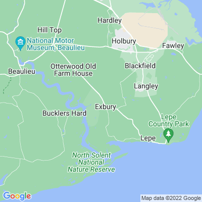 Exbury House Location