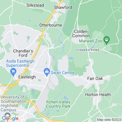 Mount, The, Bishopstoke Location