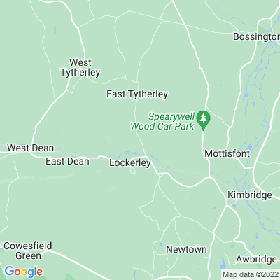 East Tytherley Manor Location