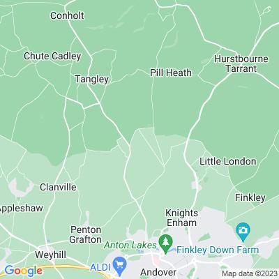 Hatherden House Location