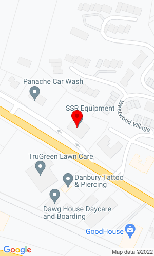Google Map of SSR Equipment Inc. 61 Mill Plain Road, Danbury, CT, 06811