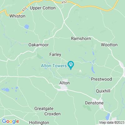 Alton Towers Location