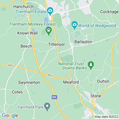 Tittensor Chase Location
