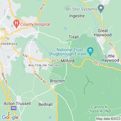 Milford Hall Location