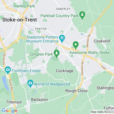 Queen's Park, Longton Location