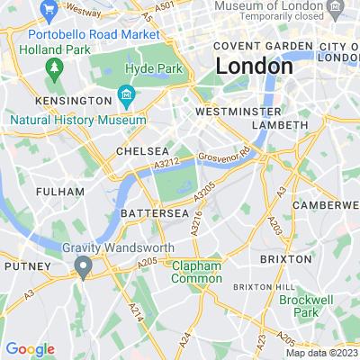Battersea Park Location