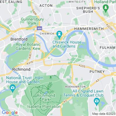 Jubilee Gardens, Richmond Location