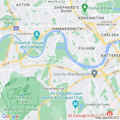 Putney Lower Common Cemetery Location