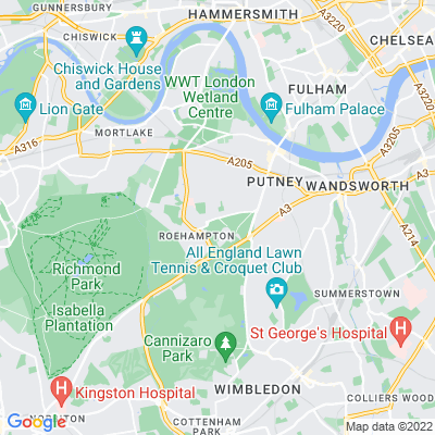 Putney Park Lane Location