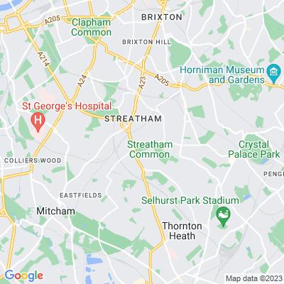 Streatham Common Location