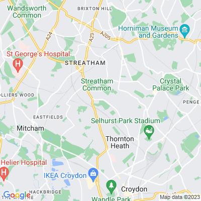 Norbury Park, Croydon Location