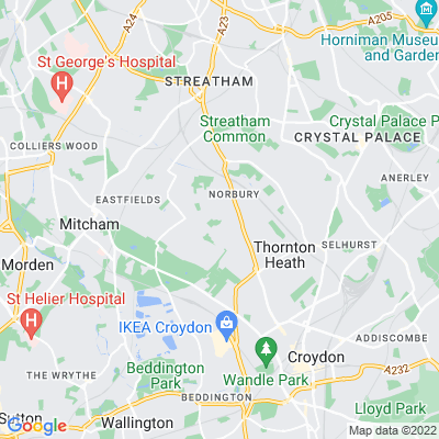 Pollards Hill Location