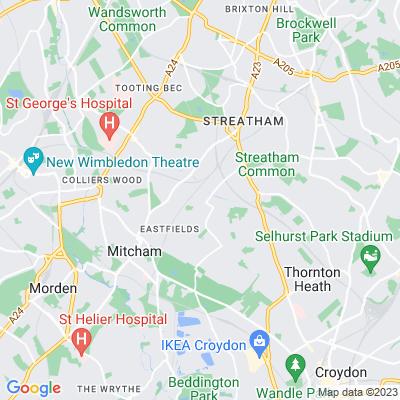 Streatham Vale Park Location