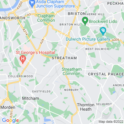 Streatham Green Location