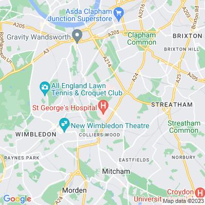 Streatham Cemetery Location