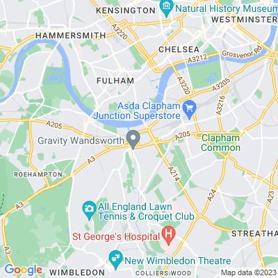 Wandsworth Park Location
