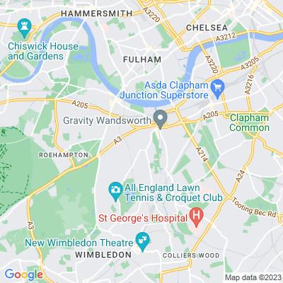 West Hill Road Green (West Hill Road/Wimbledon Park Road) Location