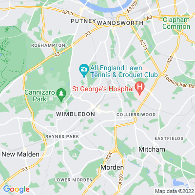 Wandle Park, Merton Location