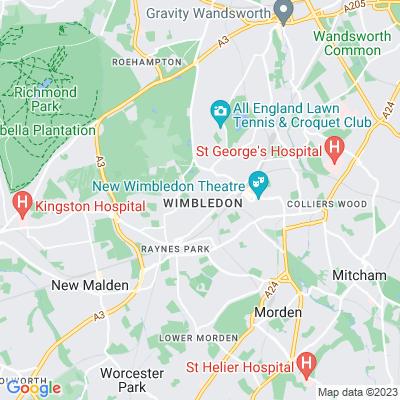 Wimbledon College Location