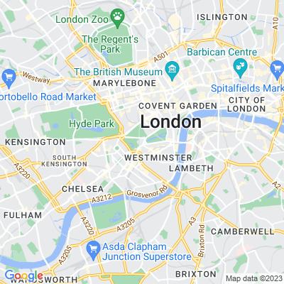 Buckingham Palace Gardens Location