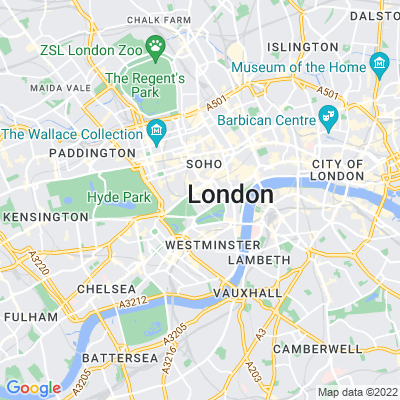 Green Park, Westminster Location