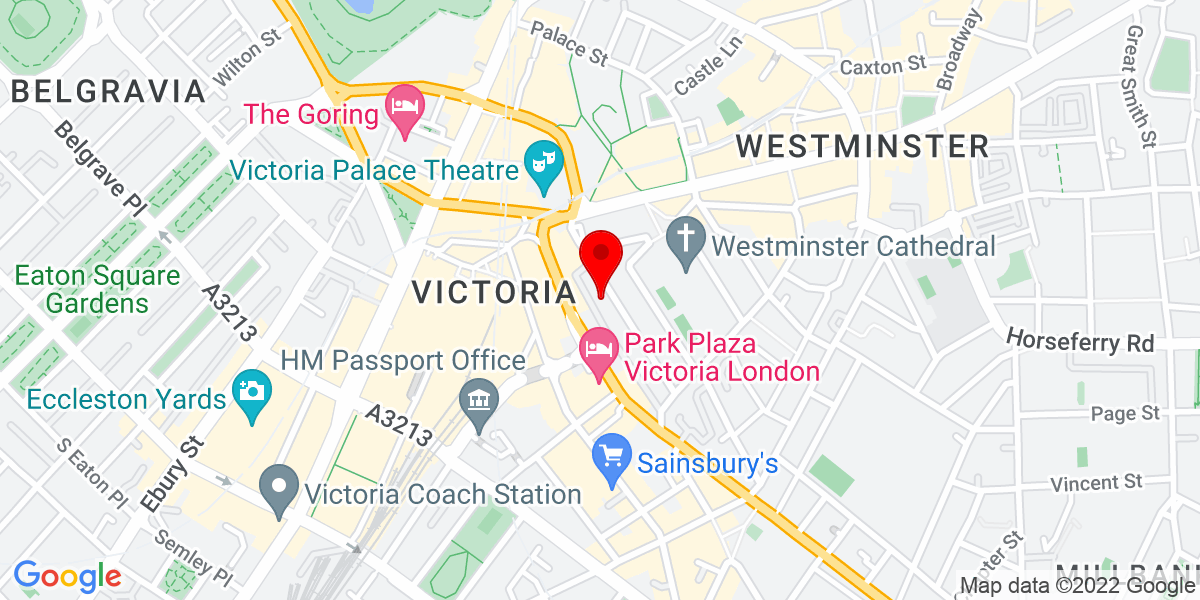 Google Map of SW1P 1NL